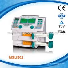 Pompe à seringues médicale double voie MSLIS02
