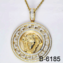 Bijoux fantaisie Cadre micro 925 pendentif en argent.