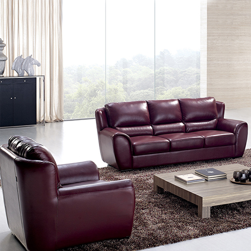Leather Lounge Sofa Set