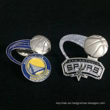Personalizado en forma de insignia 3D Pin de solapa con logotipo de impresión