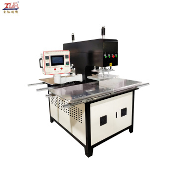 Automatic Jean silicone Logo making heat printing machinery