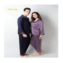 22 momme adult organic  real natural  custom men mens luxury long leg silk satin pajamas