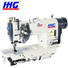 IH-8452D / 8752D Máquina de coser de doble aguja Barra de aguja dividida