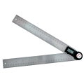 2 in 1 Digital Angle Ruler Finder Meter Goniometro Inclinometro Goniometro Angolo elettronico Calibro Acciaio inossidabile