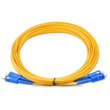 SC إلى SC SM Duplex Patch Cord
