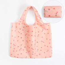 High Quality OEM Foldable Shopping Bag Polyester Reusable Foldable Shopping Bag