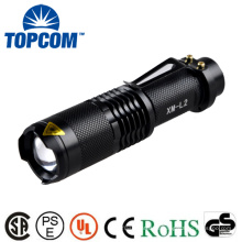 TP - 68L 18650 Bateria recarregável de alta potência poderosa Zoom MINI lanterna LED