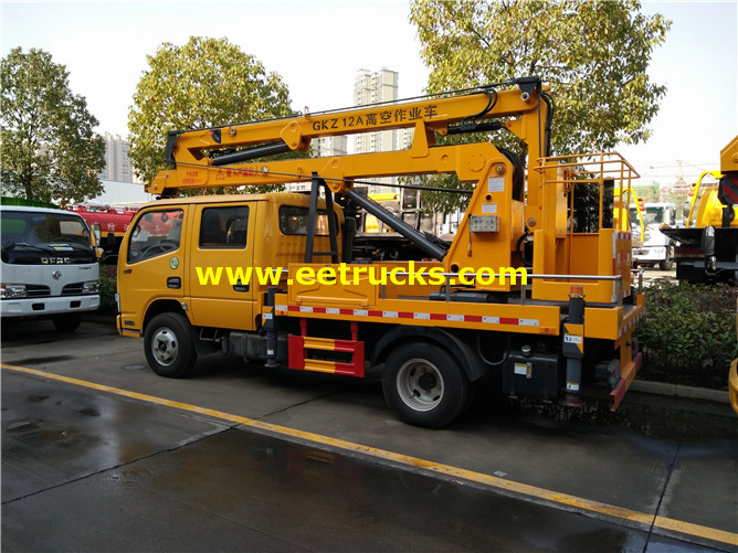 Articulated Aerial Lift Truck
