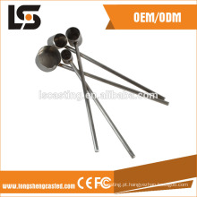 304 Material de peças de carimbo de aço inoxidável brilhantes com máquina de corte a laser