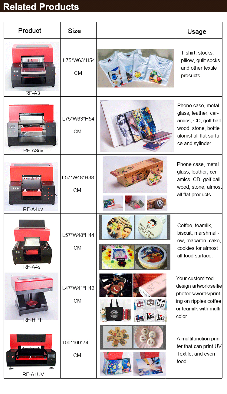 Bag Flatbed Printer Price