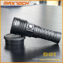 Tocha impermeável do mergulho do diodo emissor de luz do equipamento 1200 do lúmen 100m do mergulho autónomo de Maxtoch D01