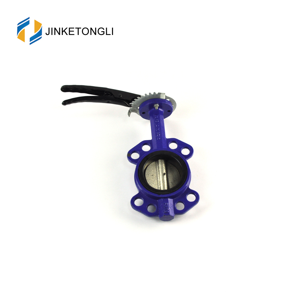 JKTLWD017 double eccentricity cryogenic butterfly valve