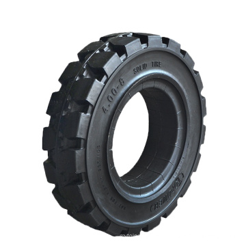 High quality Sweeper solid rubber tyre 400x8