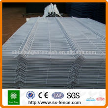 Low carbon steel wire security fence/ welded wire mesh fence/ folded fence