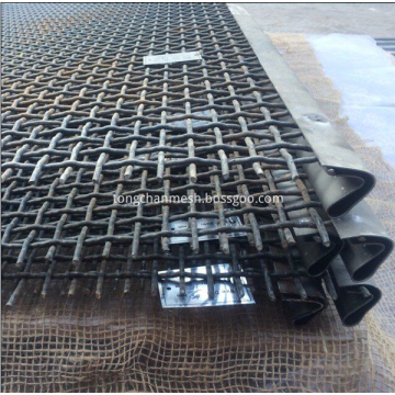 Bergetar Skrin Crimped Wire Netting