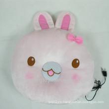 Altavoz de almohada cara de conejo para MP3 PC teléfono