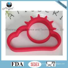 Sun y Cloud Kid's DIY creativo huevo de silicona Herramienta huevo molde Se13