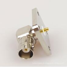 Flange de plugue R / A de montagem de flange quadrada BNC