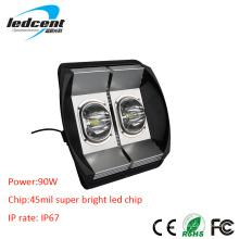 90W Bridgelux COB Chip LED Flood Light avec CE