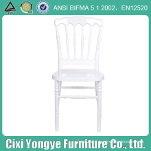 Durable White Color Plastic Napoleon Chair for Event