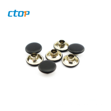 Hot sale bag accessory custom button metal snap button for leather