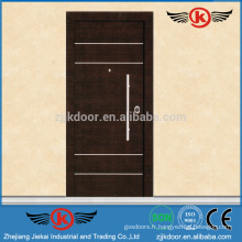 JK-AI9828 Exterror Steel Safety Door Design avec Grill