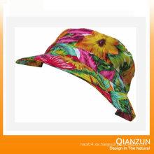 Kundenspezifisches Design Logo / Label Cotton Blank Bucket Hat
