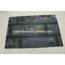 large well print table game rubber battle mats