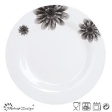 "10.5"" Round Ceramic Decal Porcelain Plate"