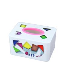 Fashion Rectangle Plastic Tissue Box (FF-5073)