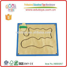 educational wooden wall game for kids