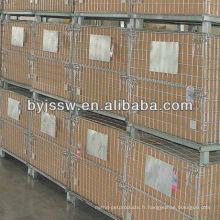 Cage de sécurité en treillis métallique