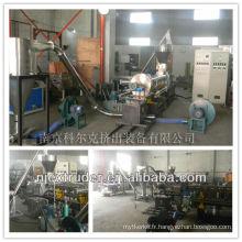 Machines pour fabriquer du mélange maître de charge de carbonate de calcium