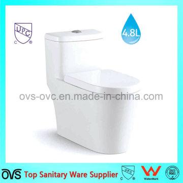 Горячая продажа One Piece Water Saving Toilet Американский стандарт