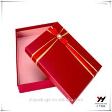 Custom Logo Stamping Verpackung Schal Phantasie Kartons