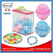 Suprise Ei Candy Toy mit Zubehör in großer PVC-Handtasche
