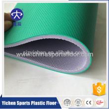 Atacado rolo de piso de esportes de PVC para badminton / basquete / handball tribunal