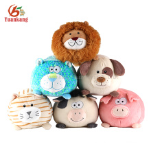 decoración del hogar mini muñeco de peluche felpa león