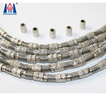 High  Cutting Efficiency Diamond Electroplated Vacuum Brazed Wire Saw