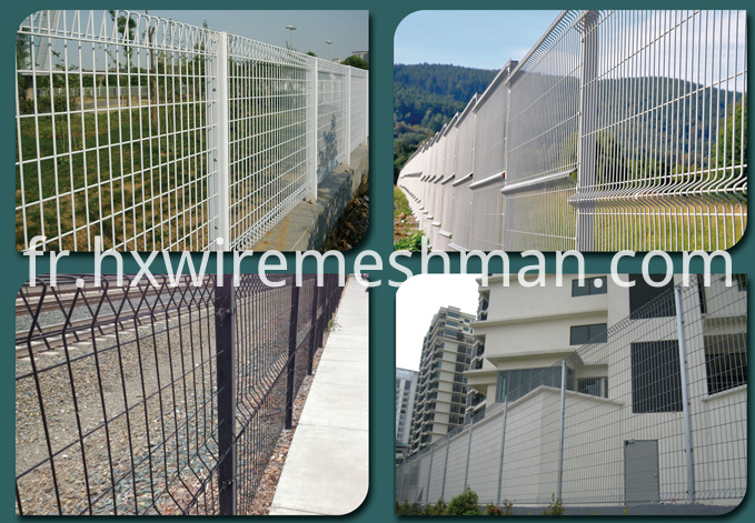 wire mesh fence application