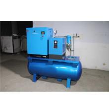 Integrated screw air compressor