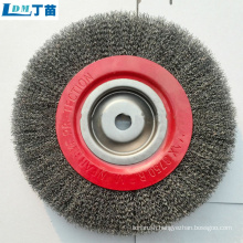 Wholesale price adjustable steel wire brush for cleaning castings