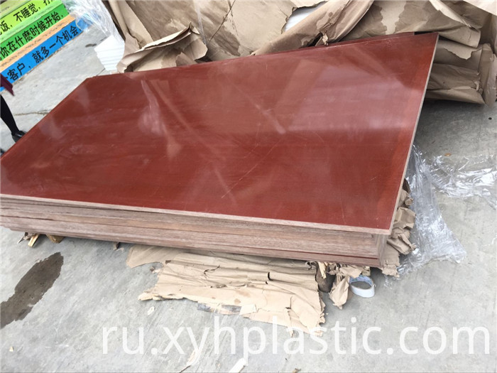 Coffee Color Phenolic Cotton Cloth Fabric Sheet
