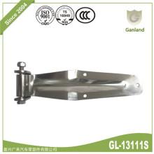 Charnières polies en acier inoxydable de longueur 340 mm