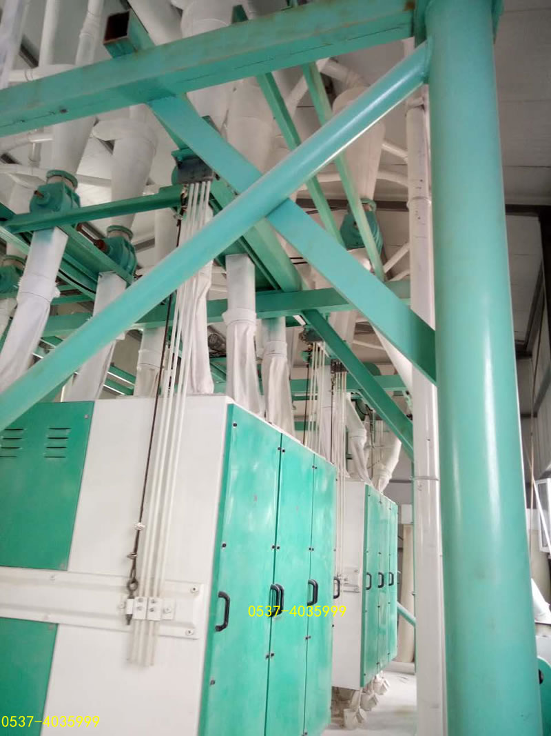 large flour mill equipment