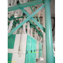Planta de procesamiento de harina de trigo tipo piso de 100 toneladas.