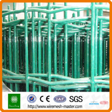Panneau de clôture en treillis métallique vert holland