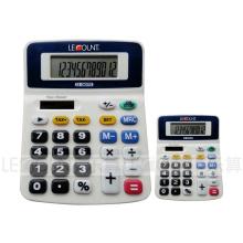 12-разрядный калькулятор для рабочего стола с дополнительной английской / японской налоговой функцией (LC260T)