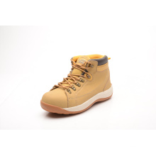 Nubuck Leather Safety Shoes with Suede Tongue (LZ5004)