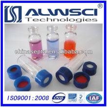 9-425 Flacon en verre transparent adapté pour Agilent Autosampler